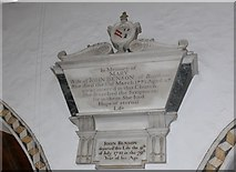 SD3598 : St Michael and All Angels, Hawkshead: memorial (vii) by Basher Eyre