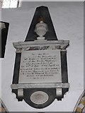 SD3598 : St Michael and All Angels, Hawkshead: memorial (xiv) by Basher Eyre