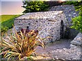 SH8481 : St Trillo's Seafront Chapel, Rhos on Sea by David Dixon