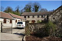 SE4529 : Old Park Lane Farm, Ledsham by Ian S