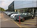 TL4251 : Porsche dealership, Harston by Hugh Venables