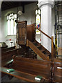 TM1473 : Pulpit of St.Peter & St.Paul Church by Geographer