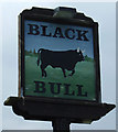 NZ0371 : Sign for the Black Bull, Matfen by JThomas