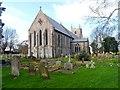 TF2925 : St Mary's church, Weston by Bikeboy
