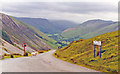 SH9123 : Fastnesses of Montgomeryshire from Bwlch-y-Groes, 1993 by Ben Brooksbank