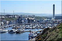 SC2484 : Peel Harbour by Jim Barton