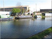 TQ2282 : Growltiger - narrowboat on Paddington Arm, Grand Union Canal by David Hawgood