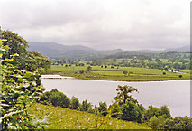 SH8931 : South end of Bala Lake (Llyn Tegid), near Llanwuchllyn, 1993 by Ben Brooksbank