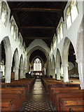TM2373 : Inside of All Saints Church by Adrian Cable