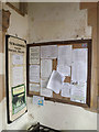 TM2373 : Notice Board in the porch of All Saints Church by Adrian Cable