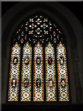 TM2373 : Stained Glass Window of All Saints Church by Adrian Cable