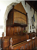 TM2373 : Organ of All Saints Church by Adrian Cable