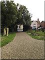 TM2373 : Church Path of All Saints Church by Adrian Cable