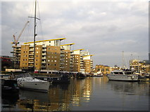 TQ3681 : Limehouse Basin by Chris Holifield