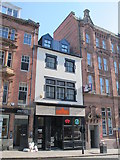 NZ2564 : Late 18th C house, Mosley Street, NE1 by Mike Quinn