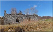 NH3214 : Ruin at Dundreggan by Alpin Stewart