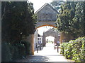 TF0516 : Archways at Witham Hall by Bikeboy