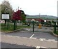 SO5112 : Kymin View Primary School & Nursery entrance gates, Wyesham by Jaggery