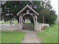 SO7829 : Lych Gate, St James' Church, Staunton by Eirian Evans