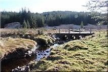 NN0407 : Culvert on forest access road by Douglas Water by Alan Reid