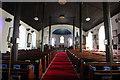 SH7217 : Interior of Eglwys y Santes Fair (St Mary's Church), Dolgellau by Jeff Buck