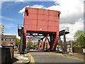 TQ3580 : Bascule Bridge at Shadwell Basin by Chris Holifield