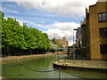 TQ3480 : Ornamental Canal in Wapping by Chris Holifield