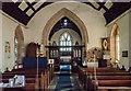 SO5928 : Interior, St Mary's church, Foy by Julian P Guffogg