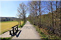 SH7218 : Riverside Walk at Dolgellau by Jeff Buck