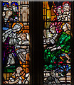 SO5932 : West window, All Saints' church, Brockhampton by Julian P Guffogg