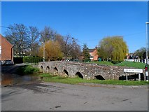 SK6514 : Bridge and ford at Rearsby by Bikeboy