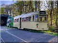 SD8303 : Blackpool Tram Line-Up at Heaton park by David Dixon