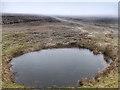 SE0095 : Pond, Apedale Head by Mick Garratt
