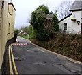 ST3092 : Narrow Pentre Lane, Llantarnam by Jaggery