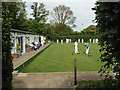 TV4899 : Matches at Seaford Bowling Club, Chichester Road, Seaford by Robin Stott