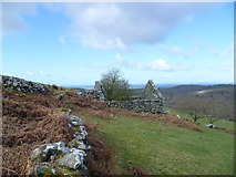 SH6127 : Old barn beside the Taith Ardudwy Way by Jeremy Bolwell