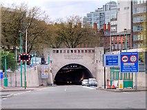SJ3490 : Mersey Tunnel (Queensway) Portal, Liverpool by David Dixon