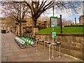 SJ3490 : Liverpool Citybike Stand, Old Haymarket Street/St John's Gardens by David Dixon