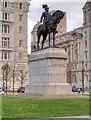 SJ3390 : Edward VII Monument, Liverpool Pier Head by David Dixon