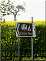 TM3865 : Roadsign on the A12 Main Road by Adrian Cable