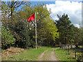 SU9355 : Red flag, Ash Ranges by Alan Hunt