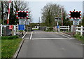 SN6214 : Brynmarlais Crossing, Llandybie by Jaggery