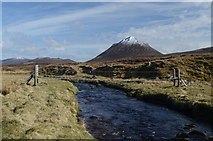 NC9831 : Suspension Bridge at Gobernuisgeach by Andrew Tryon