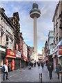 SJ3490 : Richmond Street and Radio City Tower, Liverpool by David Dixon