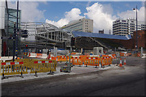 SP0786 : New Street Station from Smallbrook Queensway by Stephen McKay