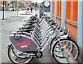 J3373 : Belfast Bikes, Gt Victoria Street (May 2015) by Albert Bridge