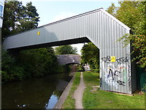 SP3380 : Pipebridge across the Coventry Canal by Mat Fascione