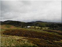 NN9328 : Moorland near Glenalmond House by Douglas Nelson