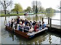 SP2054 : Stratford-Upon-Avon Chain Ferry by David Dixon