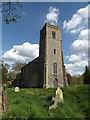 TM3372 : St.Mary's Church, Heveningham by Adrian Cable